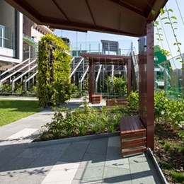 Lady Cilento Children's Hospital by Conrad Gargett Lyons prioritises green roofs and community spaces [video]