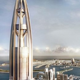 Dubai tower by Woods Bagot is world's tallest unfinished skyscraper