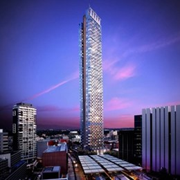 Parramatta's height limits removed, 336m tower by Grimshaw Architects set to soar