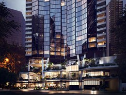 Woods Bagot bring a little bit of Park Royal and The Troika to Brisbane tower