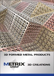3D formed metal products