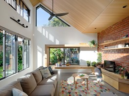 Passive design and sustainable materials in a Victorian cottage