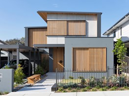 Sustainability and passive design in a family home on a budget