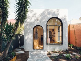 An Art Deco moment in an austere Adelaide suburb
