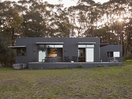 An off-grid sustainable haven in country Victoria