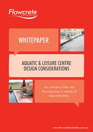 A guide to aquatic and leisure centre flooring