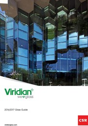 Viridian Architectural Glass Guide
