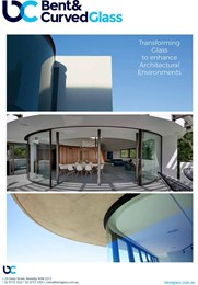 Bent & Curved Glass: Transforming glass to enhance architectural environments