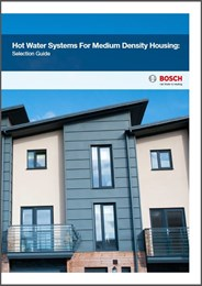 Hot water systems for medium density housing