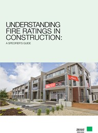 Understanding fire ratings in construction: A specifier's guide