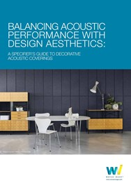 Balancing acoustic performance with design aesthetics