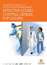 Closing the door on poor acoustic management: Effective sound control design for doors