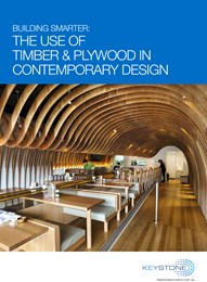 Building smarter: The use of timber & plywood in contemporary design