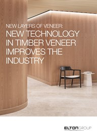 New layers of veneer: New technology in timber veneer improves the industry