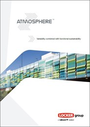 Atmosphere façade system: Variability combined with functional sustainability