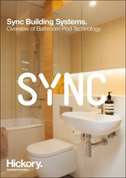 Sync Building Systems - overview of bathroom pod technology