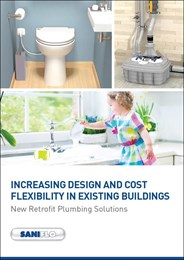 Increasing design and cost flexibility in existing buildings