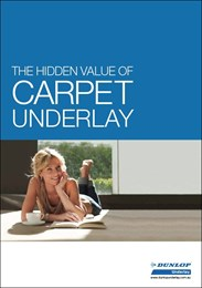 The hidden value of carpet underlay