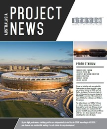 Project news: Stryum used on Perth Stadium