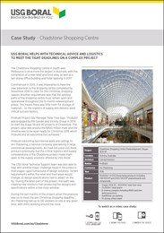 Case Study: Chadstone shopping centre
