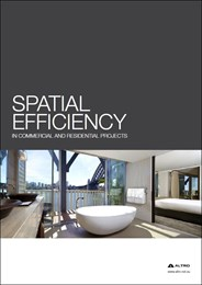 Spatial efficiency in commercial and residential projects