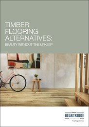 Timber flooring alternatives: Beauty without the upkeep