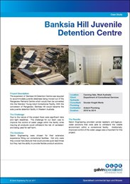 Case study: Banksia Hill Juvenile Detention Centre
