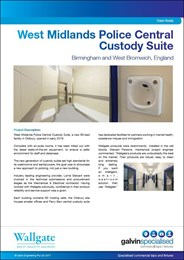 Case study: West Midlands Police Central Custody Suite