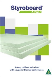 Styroboard® XPS: strong, resilient, and robust with a superior thermal performance