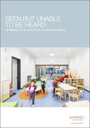 Seen but unable to be heard: Optimising the acoustics of educational spaces