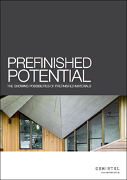 Pre-finished potential: the growing possibilities of pre-finished material