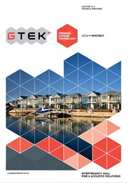 GTEK Protect: Intertenancy Wall, Fire & Acoustic Solutions