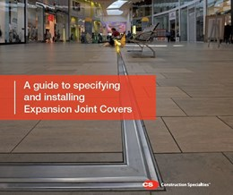 A guide to specifying and installing Expansion Joint Covers