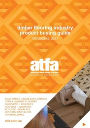 Timber flooring industry product buying guide