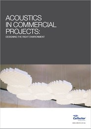 New whitepaper discussing how to design for acoustics in commercial environments