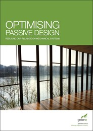 Optimising passive design: Reducing our reliance on mechanical systems
