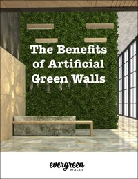 The benefits of artificial green walls