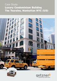 Case study: Luxury condominium building - The Touraine, Manhattan