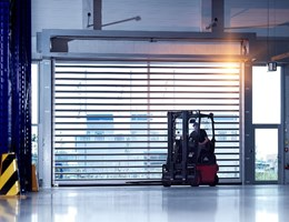 Making a case for high performance with safety and security: DMF high speed automatic doors