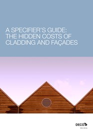 A specifier's guide: The hidden costs of cladding and facades