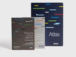 Dulux's new Powder Coat colour selectors simplify specification process