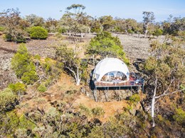 Luxury dome designed to boost tourism in regional NSW