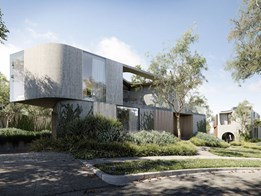 Architects design rare Modernist homes for Yarra Boulevard