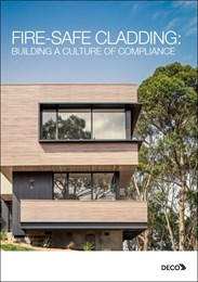 Fire-safe cladding: Building a culture of compliance