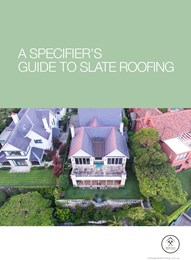 A specifier's guide to slate roofing