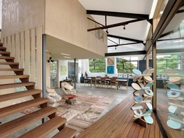 1960s Melbourne warehouse revitalised as inner-city family home