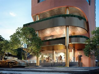 FJMT reveal designs for Art Deco-inspired Sydney apartment project