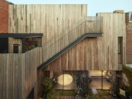 A 'Crisp' re-design for one of Collingwood's oldest timber dwellings