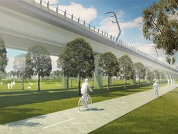 COX and Aspect to collaborate on 22.5ha, Highline-esque park in Melbourne