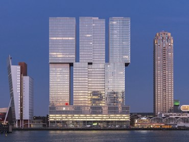 De Rotterdam, The Netherlands. Photography by Frans Parthesius